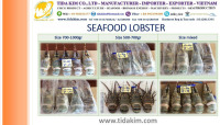 LOBSTER TIDA KIM FRESH LIVE WHOLE ROUND FROZEN P ORNAT US LOBSTER - FROZEN BASA FILLLET - BLACK TIGER SHRIMP