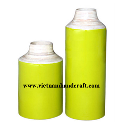 lacquered bamboo decorative items