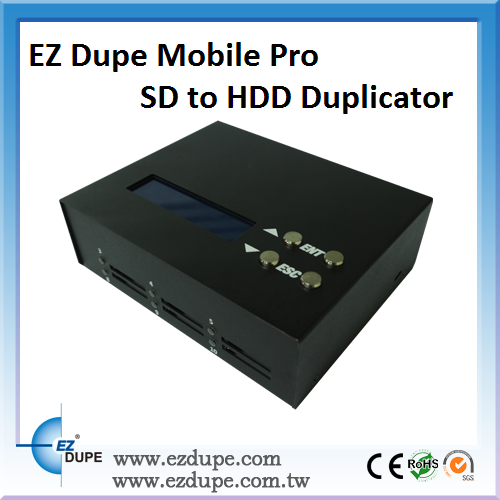 EZ Dupe CD / DVD / BD ( Blu-ray ) Duplicator (+ w/ 500GB HDD)