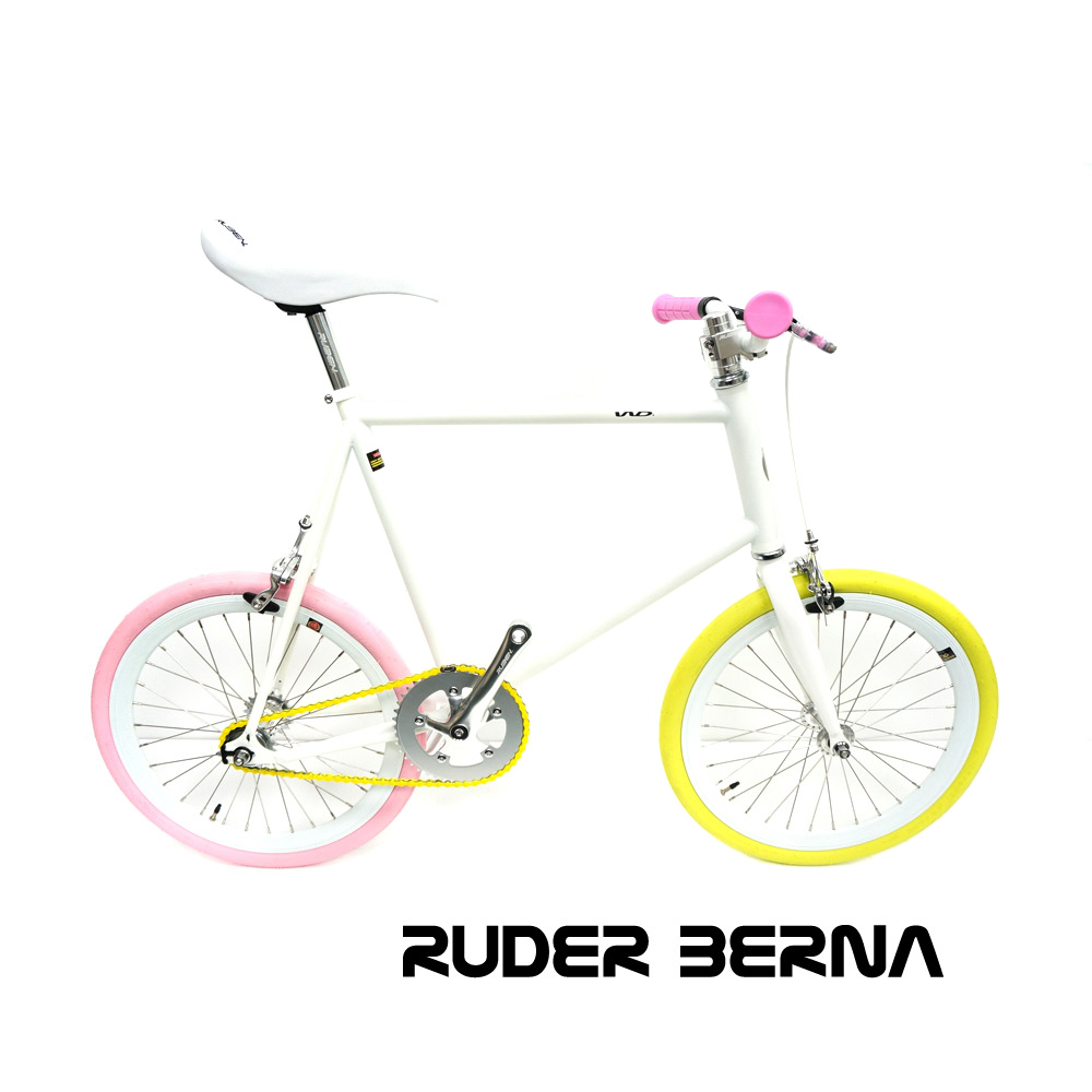 Ruder Berna EIghtper Taiwan Made 20 inch Mini COLORFUL fixed gear complete bike