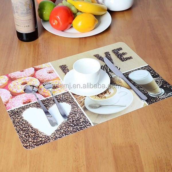 Eco-friendly PP material printing placemat
