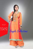 pakistani Umbrella Frocks Salwar Kameez /Wholesale Pakistani Long Frocks Anarkali Suits / Indian culture clothing 2015