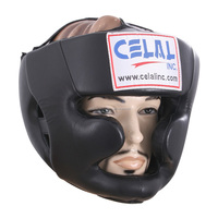 High Quality Full face Leather Boxing Head Guard