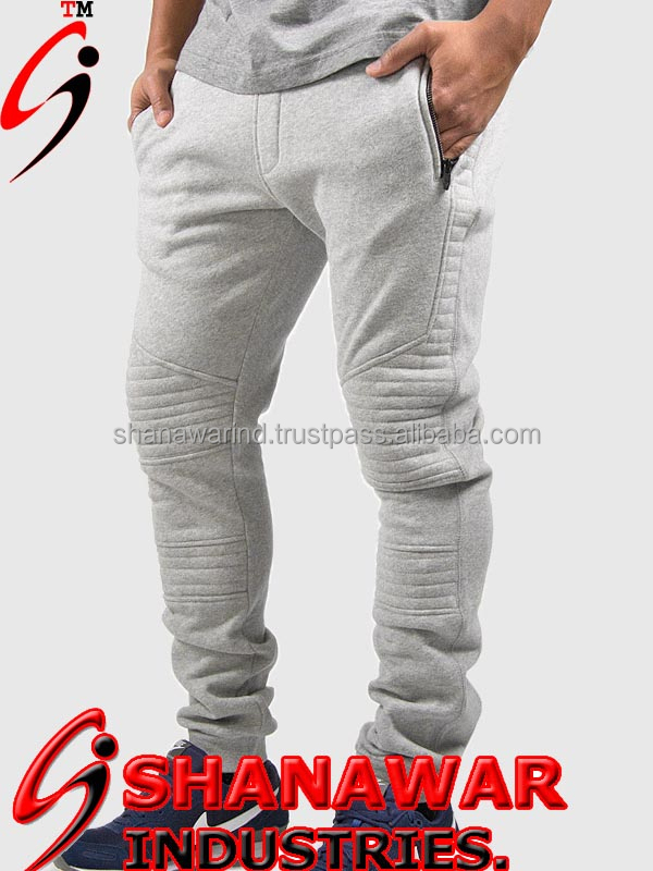 knee design sweat pant