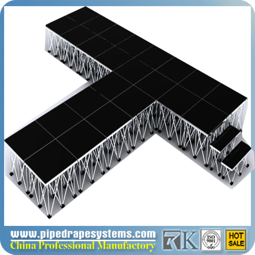 Aluminium + Plywood Smart Stage Portable Stage for Show