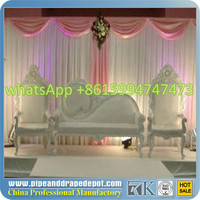 portable wedding pipe and drape kits pop up promotion table