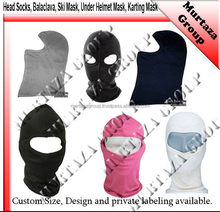Head Socks/Balaclava, Karting Suits, HeadSock, Balaclava, Karting Gloves, Cycle Wind Stoper Helmet/Neck Support, Body Protection