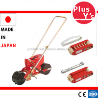 Made in JAPAN high quality Tray seeding Machine with a rolling belt