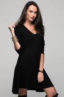 Woman Dress Ladies New Fashion Clothes Wearing Autumn 2015 Product : CM-109-BLACK