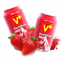 Energy Drink High Taurine Strawberry Flavor