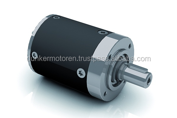 Dunkermotoren's planetary gearboxes are notable for very compact design, low weight and excellent efficiency.