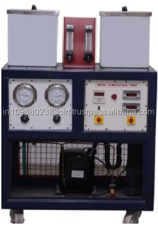 Trainer water to water heat pump Test Rig educational equipment Refrigeration and air conditioning lab