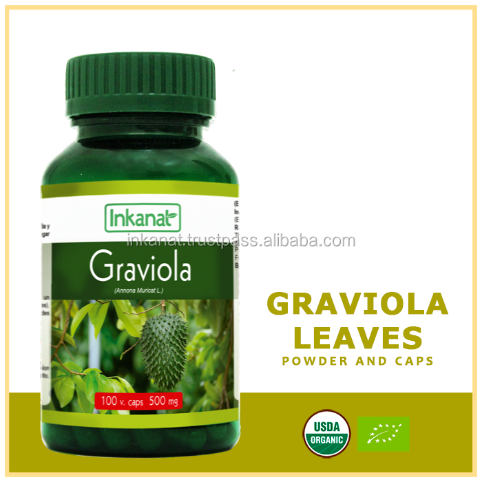 graviola leaves powder and caps
