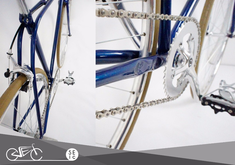 Taiwan made Classic Steel Fixed Gear Bike Vintage Single Speed Bicycle
