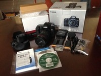 Buy 2 Get 1 Free With Discount For New Sealed Canon EOS 5D Mark III 22.3 MP Digital SLR Camera W/3 CanonEF Lens FLASH,GRIP,WiFi