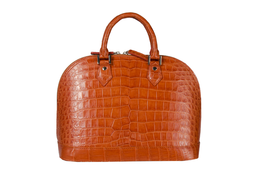 KHATOCO Crocodile Leather Handbag 06215