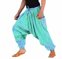 men & Women beach yoga hippy hippie Aladdin Alibaba Pants