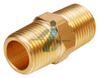 "1/2"" BSPT Thread Brass Male Thread Hex Nipples Connector Pipe Fitting"