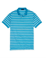 STRIPED PIMA SOFT-TOUCH MEN'S POLO SHIRT
