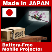 Easy to assemble compact smart projector for iPhone , OEM order available