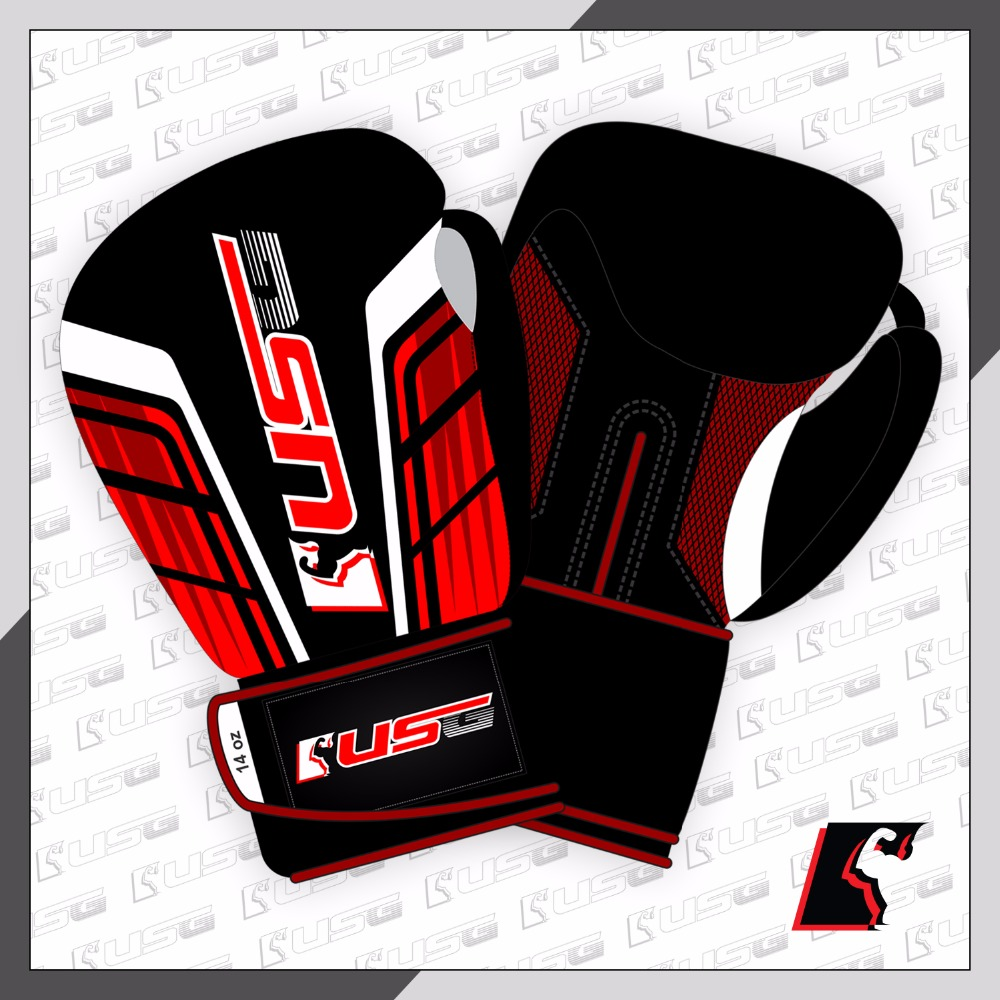 USG Professional Design Boxing Fight Gloves