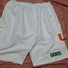 CUSTOM SOFTBALL MICRO SHORTS WHITE WITH