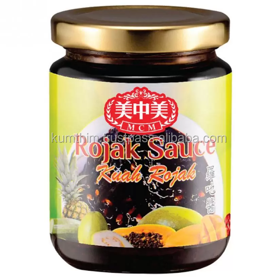 Halal Rojak Sauce in bottle from Malaysia