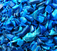 HDPE Drums Regrind HDPE Blue Drums