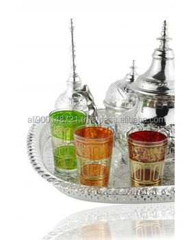 Moroccan tea service set