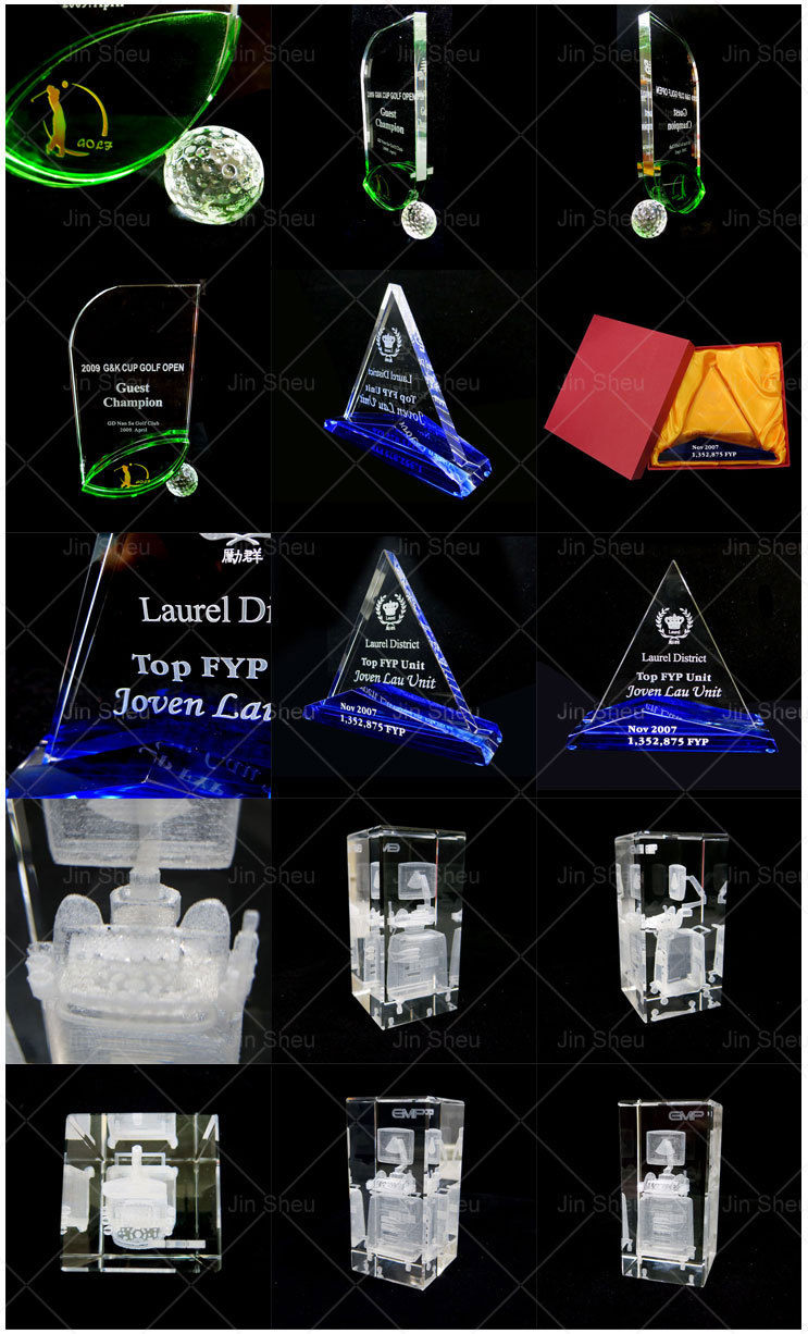 Best Company Anniversary Corporation GIft Crystal Glass Souvenir