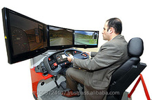 ADVANCED DRIVE REAL CAR TRAINING SIMULATOR (Motion Systems 2-6 DOF, Real Car Equipment)