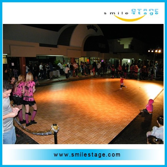 high grade dance pond for wedding polished dance floor