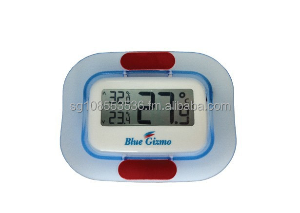 Blue Gizmo Digital Freezer Fridge Thermometer BG-TM-100