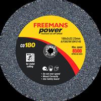 FREEMANS Power - 7 inch Cut Off Wheel (Black)