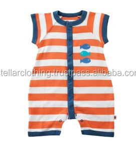 Embroidery Cute Baby Romper Summer Infant Clothes Wholesale