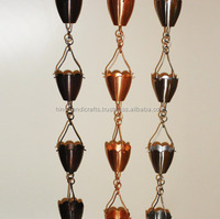 Copper Rain Chain Manufacturer From India, Bulk Rain Chain Supplier From India