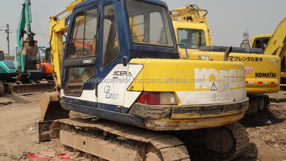 Used Excavator Kobelco SK60 For Sale-Mini Crawler Excavator