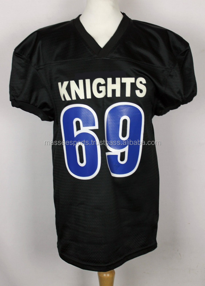 custom 5xl blank american football jersey