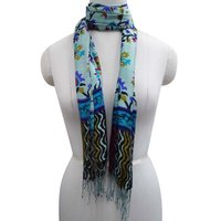 "Viscose Scarf Hijab Head Neck Wrap Shawl Multicolor Long Stole Scarves 28""X62"" BSH787"