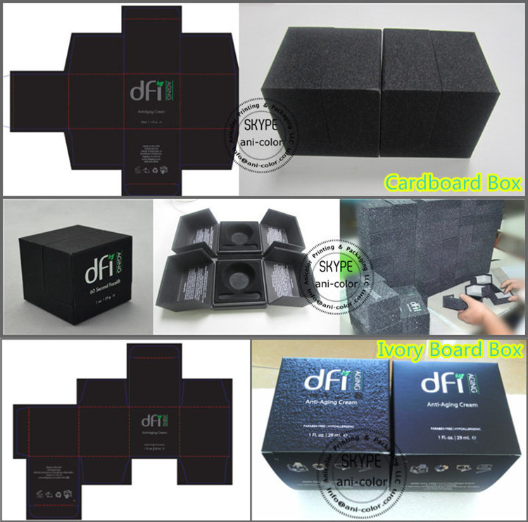 Matt Laminated Cardboard Packaging Box with Lid