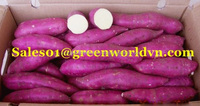 FROZEN SLICE SWEET POTATO WITH PREMIUM QUALITY, MOST COMPETITIVE PRICE