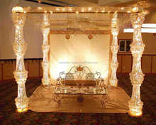 wedding mandap/indian mandap designs/wedding crystal mandaps