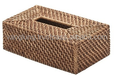 Hotel Wicker Tissue Box