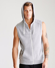 Latest European Men Cheap Custom Style Short Sleeve Men Sleeveless Hood Wholesale