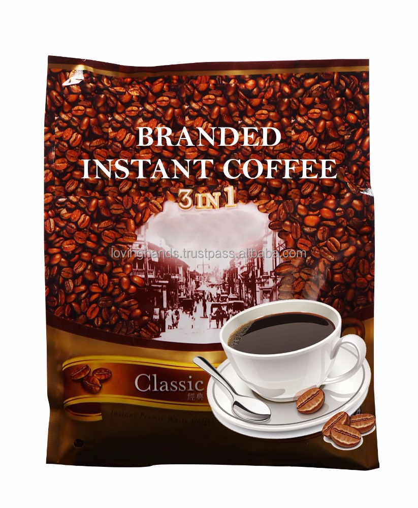 Instant Coffee 3 in 1 Packet FMCG Brand