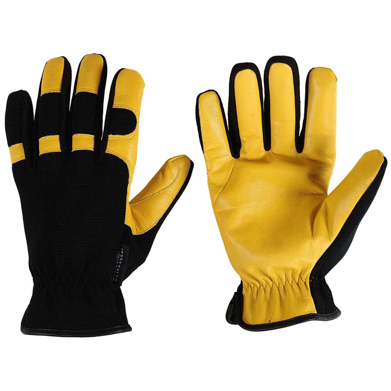 Mechanical Leather Work Gloves