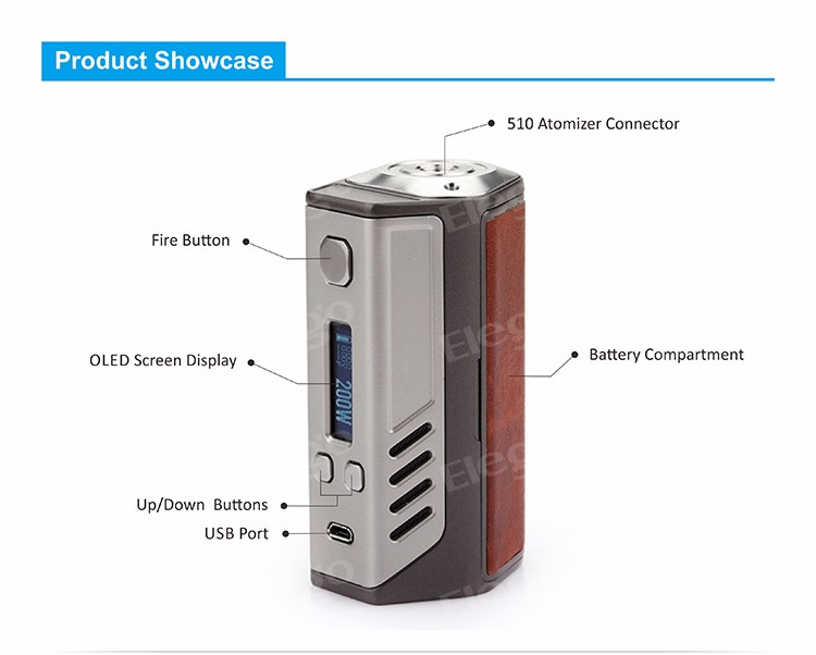 Lost Vape Triade DNA 200 Dual 18650 Mod 2016 DNA Wholesale electronic cigarette