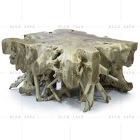 Teak Root Square Coffe Table Home