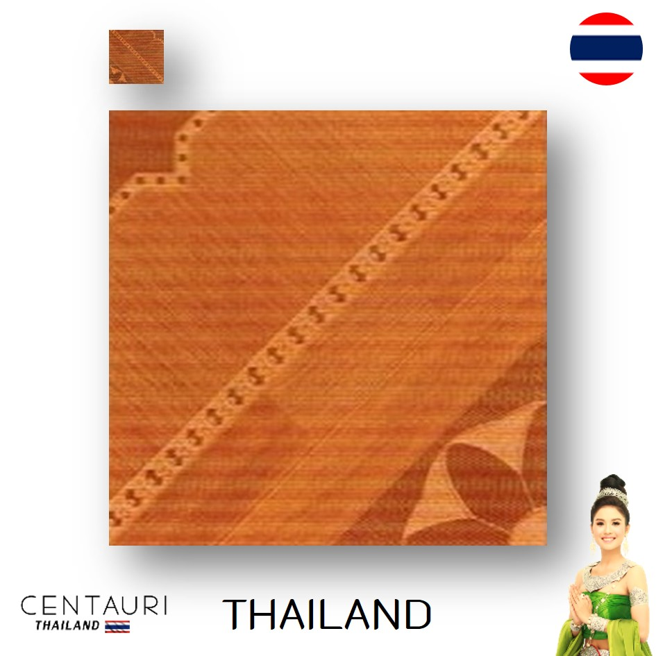 glazed 30*30 cm new Cream light brown tan wood pattern design Thai porcelain interior tile and tile from Thailand
