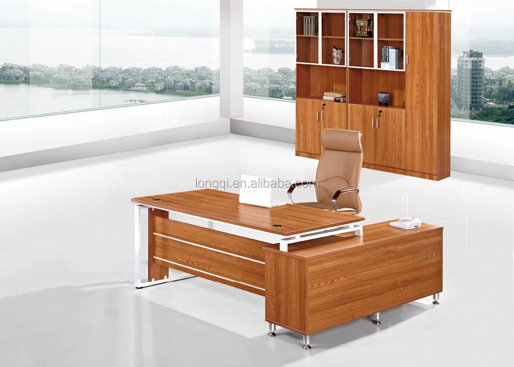 Foshan Factory New Design Office Boss Desk Modern Office Furniture Executive